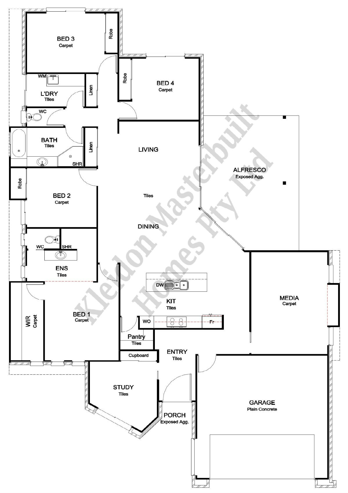 Milan 256 Floorplan