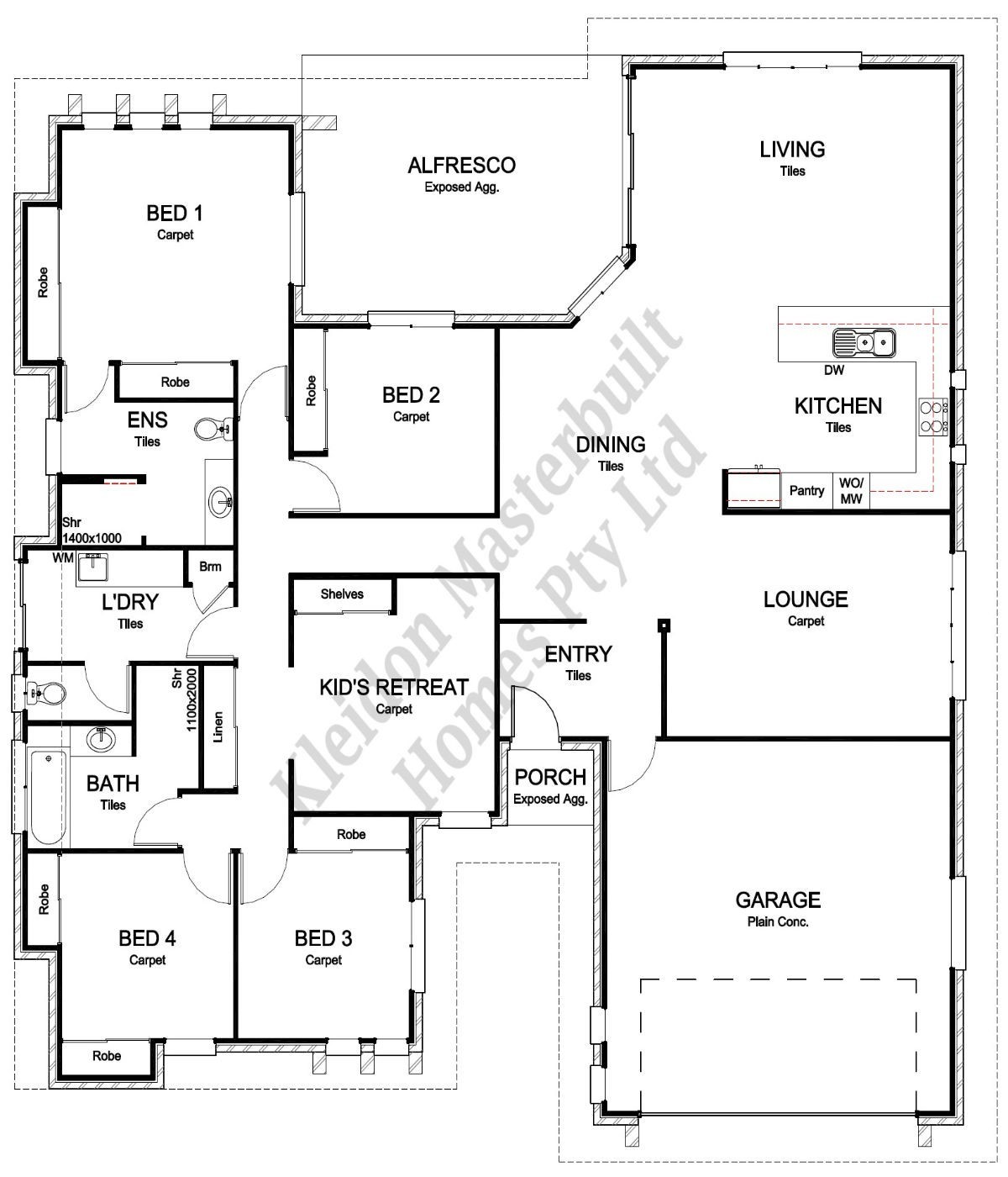 Lot 65 Greathead Road, Kepnock Floorplan