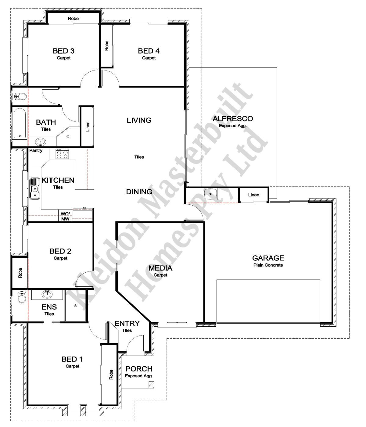 Lot 67 Gum Nut Drive, Ashfield Floorplan