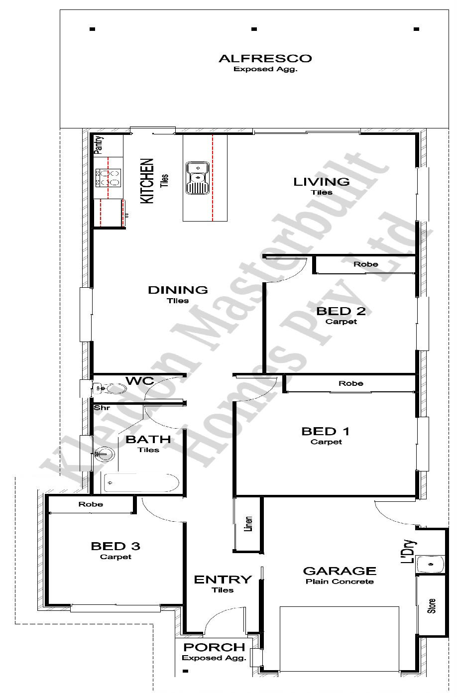 Abbey 158 Floorplan