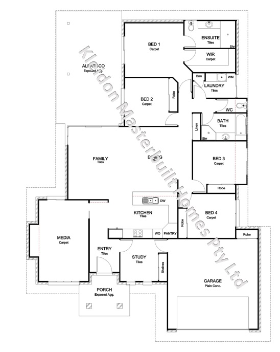 Lot 8 Greathead Road, Kepnock Floorplan