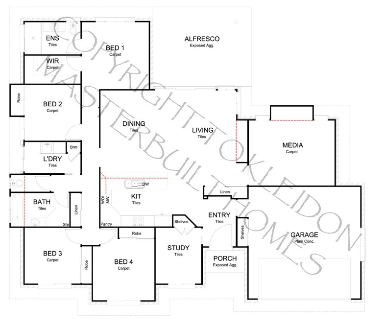 Sanctuary 243 Floorplan