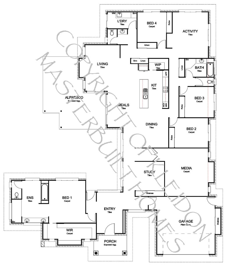 Vogue 379 Floorplan